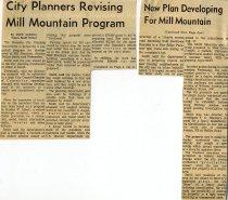 Image of Mill Mountain Plan