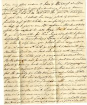 Image of Letter from Anna Maria (Saunders) Preston, page 2