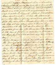 Image of Letter from Anna Maria (Saunders) Preston, page 3