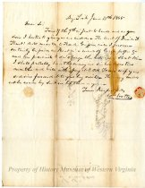 Image of Letter from William Watts to S. Simpson, page 1