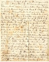 Image of Letter from Emma Gilmer Breckinridge to her daughter, Mary, page 2