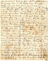 Image of Letter from Emma Gilmer Breckinridge to her daughter, Mary, page 3