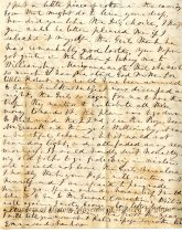 Image of Letter from Emma Gilmer Breckinridge to her daughter, Mary, page 4