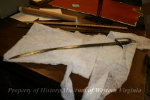 Image of William Fleming's Sword - Full Length