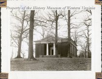 "Image of Zach McChesney House - Photo of the Zach McChesney house located in Augusta county, Virginia. House is built in the Greek Renaissance style. This photograph is located on the album page labeled ""Zach McChesney house/South River/ Augusta County, Virginia"" with two other photos identified as 1990.69.1145a and 1990.69.1145b"