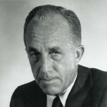 Image of UNRA-P1168-2 - Photograph of Sessions S. Wheeler (1911-1998), geography lecturer. Inducted into the Nevada Writers Hall of Fame in 1989. (May 1972)