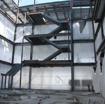 Image of UNRA-P3600-00239 - Knowledge Center Construction, Stairs.
