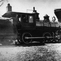Image of UNRS-P0815-1 - Photograph of Locomotive No. 3, Lake Tahoe Narrow Gauge Railroad, 1893-1893.