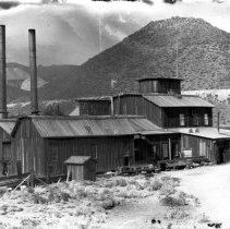Image of UNRS-P1988-42-04 - Photograph of Overman Mine, Gold Hill.  Photo by Thomas Woodliff.