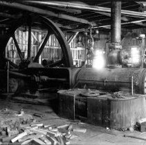 Image of UNRS-P1988-42-26 - Photograph of Comstock mining machinery. Photo by Thomas Woodliff.