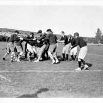 Image of UNRS-P1997-49-269 - [Rugby football ca. 1912] Cann Drug Co.  [at Mackay Field]