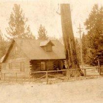 Image of UNRS-P1997-62-083 - Caretaker's house, Meeks Bay, 1931