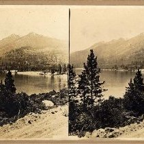 Image of UNRS-P2004-17-4 - Lake Tahoe in the Sierra Mountains.