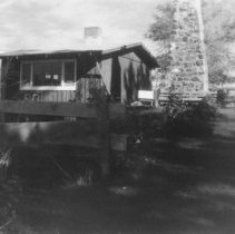 Image of UNRS-P1993-01-0825 - Photograph of Pyramid Lake Ranch; 1950s