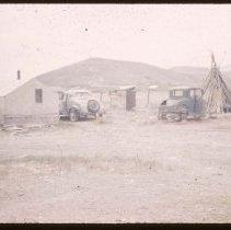 Image of UNRS-P1997-50-0782 - Slide. Salmon City, Idaho, May 1950.
