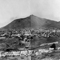 Image of UNRS-P1992-01-5958 - Photograph of Virginia City, 1876. Photographed by J. C. Kemp.