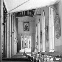 Image of UNRS-P2005-04-137 - Virginia City, NV.  Catholic Church.  1938.