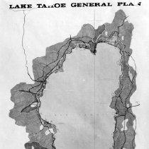 Image of UNRS-P2003-10-207 - [Map of Lake Tahoe General Plan, for the Lake Tahoe 1980 Regional Plan Program]