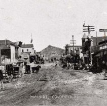 Image of UNRS-P2006-05-121 - Main Street, Goldfield, Nevada. Photo by Larson.