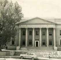 Image of UNRS-P2006-05-178 - Humboldt County Court House. Winnemucca, Nevada. Postmark 1950.