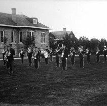 Image of UNRA-P482-072 - Cadet Corps Band (circa 1911).