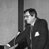 Image of UNRS-P2003-10-132 - [Jere Williams, annual meeting November 15, 1974]