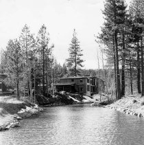 Image of UNRS-P2003-10-151 - [Cabin on the shores of the river]