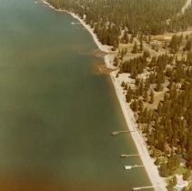 Image of UNRS-P2003-10-465 - Third and Incline Creeks. May 25, 1967.  Aerial.