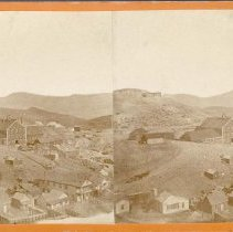 Image of UNRS-P0196-1 - Photograph of Imperial Mine, Gold Hill, Nevada. Caption on image: Imperial Mine, Nevada. New works.