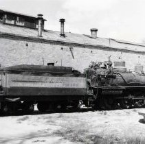 Image of UNRS-P1987-23-3722 - Photograph of Virginia and Truckee Railroad. On the fuel tank spur in Carson.