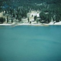 Image of UNRS-P2003-10-410 - [Aerial view of Tahoe with sediment]