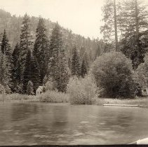 Image of UNRS-P2248-d - Photograph of Lake Tahoe Photographic Shoreline Survey, 1916