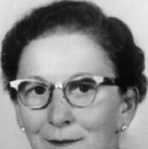 Image of UNRA-P1780-1 - Photograph of Ella Savitt (1903-2004), University of Nevada School of Medicine benefactor. She and her husband were owners of the Sierra News Company and donated $100,000 for the first medical library in Nevada, the School of Medicine's Savitt Medical Library, which was dedicated in July 1978. The Savitt Medical Science building was dedicated on August 19, 1982.