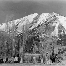 Image of UNRS-P1985-08-00205 - Photograph of Washoe Valley - Ophir - Winters Ranch, 1940s (neg. 4x5) Folder 194.