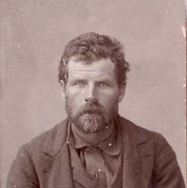 Image of UNRS-P2000-06-0394 - Jack Davis.  Wanted in Idaho for murder.  1896.  [See also #384] [From photo album of Sheriff William Caughlin]