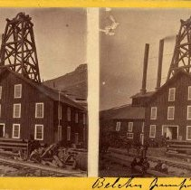 Image of UNRS-P1387-1 - Photograph of Belcher pumping and air shaft