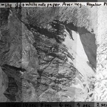 Image of UNRS-P2006-08-192 - 11-1. India. [Box Title: Lyell Winter Trips. Markers in box: Big Pine Creek - east side of Palisades, Copper Creek, Granite Pass, Farquhar 1931 Palisade Trail.]