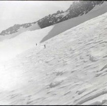 Image of UNRS-P2006-08-220 - 11-29. [Box Title: Lyell Winter Trips. Markers in box: Big Pine Creek - east side of Palisades, Copper Creek, Granite Pass, Farquhar 1931 Palisade Trail.]