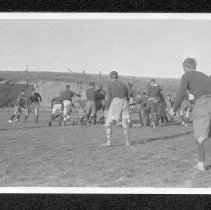 Image of UNRA-P484-028 - Rugby game on Mackay Field (ca. 1911)