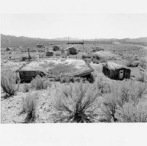 Image of UNRS-P2003-13-227 -  View of buildings on Willow Creek Ranch.