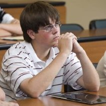 Image of UNRA-P3600-01335 - Student at the Davidson THINK Summer Institute 2008.