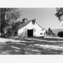 Image of UNRS-P2003-13-188 - Photographer's caption: Built circa 1934. Photograph of Barn, List Ranch, Washoe Valley. Built circa 1934. Photograph taken August 28, 2002.