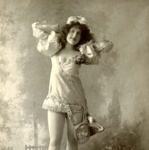 Image of UNRS-P2467-2 - Photograph of Madge Lessing in Jack and the Beanstalk.