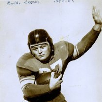 Image of UNRA-P3628-00144 - Photograph of University of Nevada football player, Buddy Brooks.
