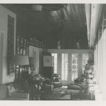 Image of UNRS-P1993-01-1003 - Photograph of interior of room. Donner Trail; 1959 and 1960s