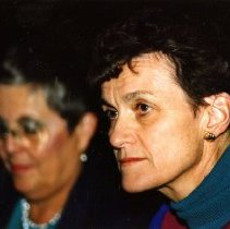 Image of UNRS-P1997-44-214 - [Left to right: Martha Gould, Sue Wagner].