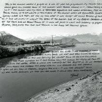 Image of UNRS-P2013-05-240 - Childhood Memory and Sense of Place. Steamboat Slough, Hidden Valley, Reno The Memory of Reed Powers, age 38, Picture Framer