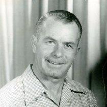 Image of UNRA-P3628-00352 - Photograph of Wally Rusk, Sr. circa 1960.