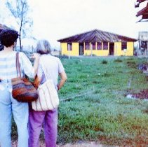 Image of UNRS-P2015-06-00011 - A photograph of Maya Miller and Helen Cohen in Nicaragua as part of the Peace House project in Puerto Cabeza, Nicaragua, circa 1986.