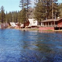 Image of UNRS-P2008-18-0813 - [Truckee River Washoe Project 1965-1967]. 1,000 c.f.s., May 19, 1967.